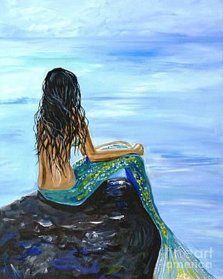 Painting - Bright Mermaid Magic by Leslie Allen