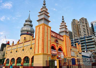 Photograph - Bright Nostalgia - Art Deco Amusement Arcade by David Hill