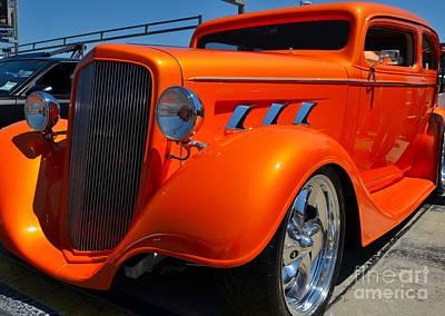 Photograph - bright orange Rod by Mark Spearman