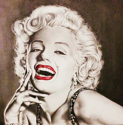 James Monroe Drawing - Bright Smile by Richard James