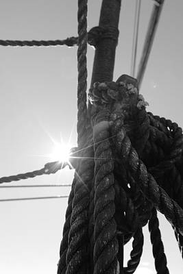 Unicorn Dust - Bright sun and coiled rope by Ulrich Kunst And Bettina Scheidulin