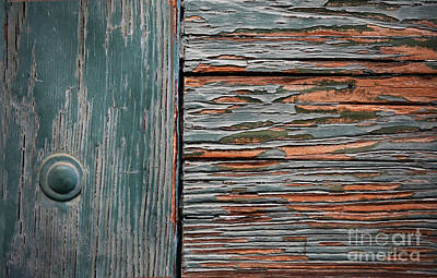 Peeling Painted Wood Wall Art - Photograph - Brighter Days by Dan Holm