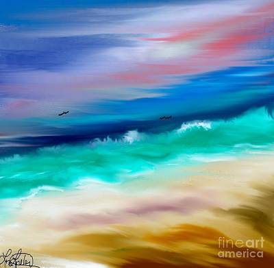 Brighter Days Art Print by Lori  Lovetere