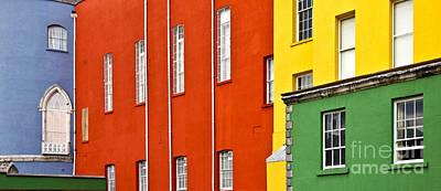 Ireland Photograph - Brightly Coloured Buildings by Liz Leyden
