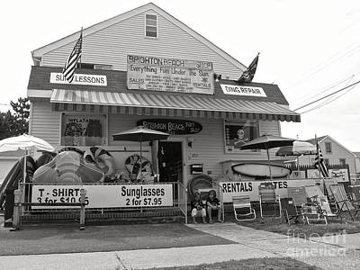 Photograph - Brighton Beach Surf Shop by Mark Miller