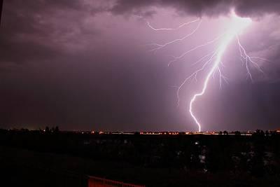 Lightning Photograph - Brighton Bolt 2 by Marcelo Albuquerque