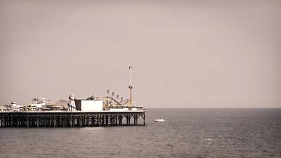 Brighton Photograph - Brighton Pier by Heather Applegate