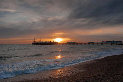 Photograph - Brighton Pier by Jacqui Collett