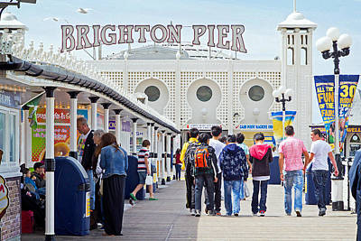 Photograph - Brighton Pier by Keith Armstrong