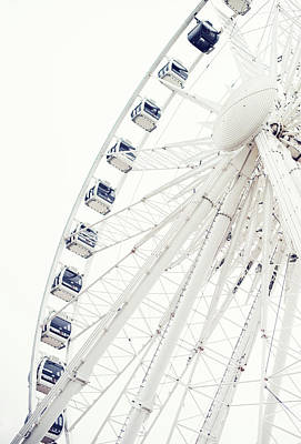 Photograph - Brighton Wheel by Images By Christina Kilgour