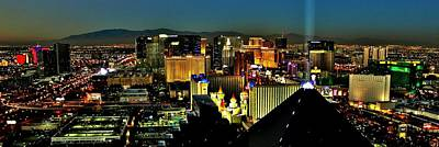 Photograph - Brights Lights Panorama by Benjamin Yeager