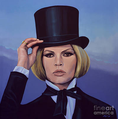 Movies Painting - Brigitte Bardot 2 by Paul Meijering
