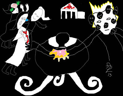 Painting - Brik A Barak by Anita Dale Livaditis
