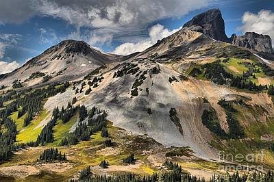 Photograph - Brilliant Colors At Garibaldi Black Tusk by Adam Jewell