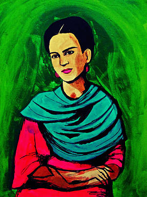Painting - Brilliant Frida by Michelle Dallocchio
