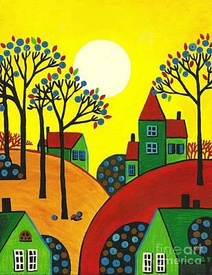 Brilliant Sun Painting - Brilliant Sun by Margaryta Yermolayeva