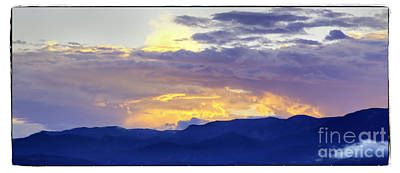 Photograph - Brilliant Sunset by David Waldrop
