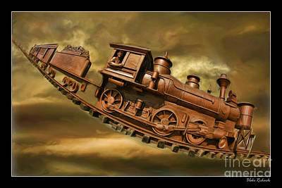 Photograph - Bringhurst Special Train by Blake Richards