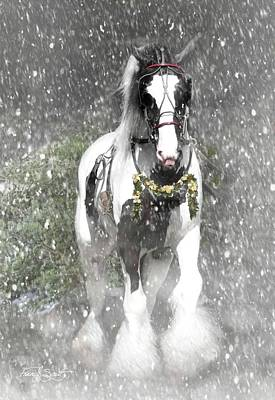 Gypsy Photograph - Bringing Home The Christmas Tree by Fran J Scott
