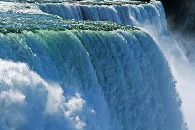 Niagra Falls Photograph - Brink Of The Falls by Michael Allen
