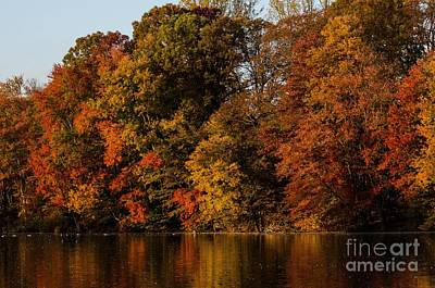 Art Print featuring the photograph Brinton Lake by Judy Wolinsky