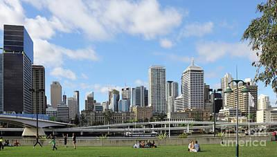 Photograph - Brisbane City by Jola Martysz