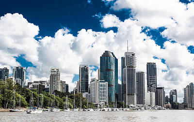 Photograph - Brisbane From The River by Parker Cunningham