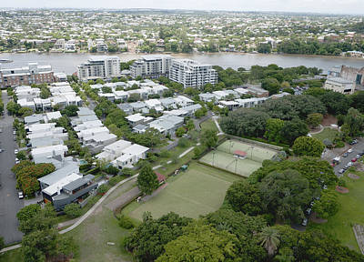 Photograph - Brisbane River Taken From New Farm by Rob Huntley