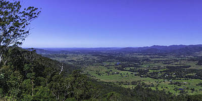 Photograph - Brisbane Valley by Peter Lombard