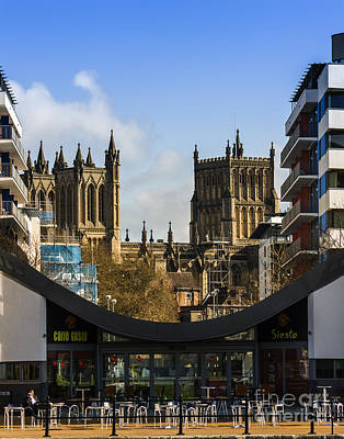 Photograph - Bristol Cathederal by Brian Roscorla