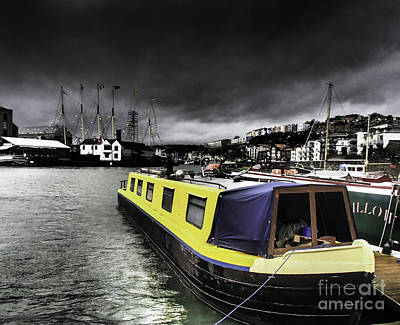 Photograph - Bristol Harbor by Michael Canning