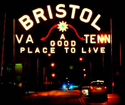 Historical Signs Photograph - Bristol by Karen Wiles