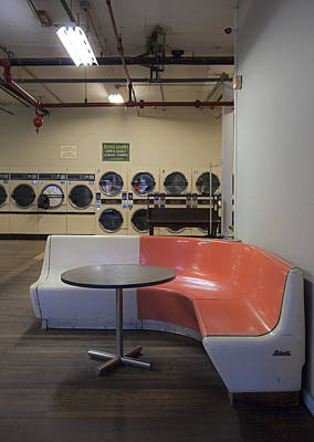 Photograph - Bristol Laundromat by Charles Harden