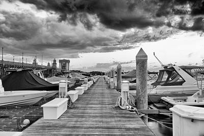 Photograph - Bristol Marina On The Ashley by Walt  Baker