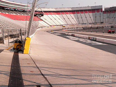 Photograph - Bristol Motor Speedway by David Bearden