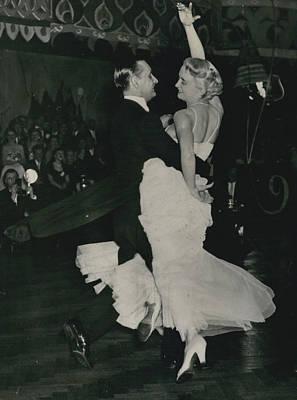 Brit I H Pajr Wins Dancing Grand Prix Art Print by Retro Images Archive