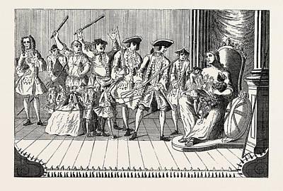 Disturbing Drawing - Britannia Disturbed By French Vagrants, Lord Trentham by English School