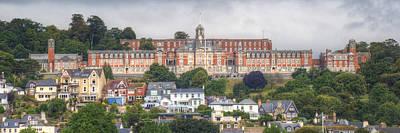 Britannia Royal Naval College Art Print by Chris Day