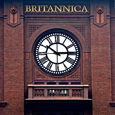 Photograph - Britannica by Frozen in Time Fine Art Photography