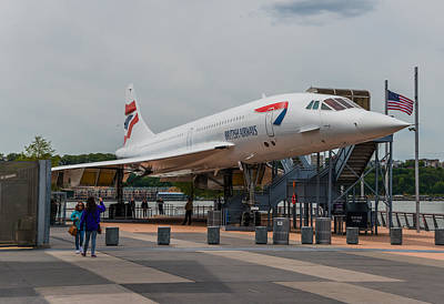 Photograph - British Airways Concorde by Chris McKenna