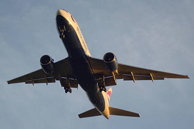 Photograph - British Airways Landing At Tpa II by Daniel Woodrum