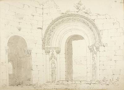 Religious Drawings Photograph - British Architecture by British Library