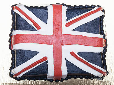 Photograph - British Cake by Diane Macdonald