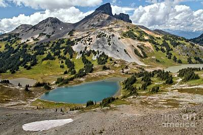 Photograph - British Columbia Black Tusk Landscape by Adam Jewell