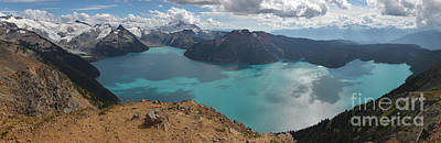 Photograph - British Columbia Canada Panorama - Garibaldi by Adam Jewell