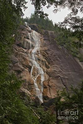 Photograph - British Columbia Shannon Falls  by Adam Jewell