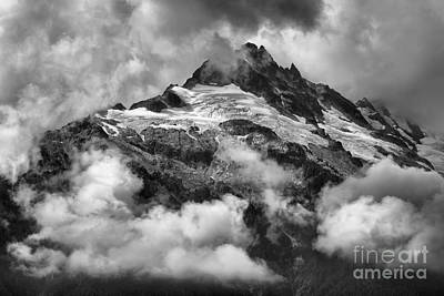 Photograph - British Columbia Tantalus Mountain Range by Adam Jewell