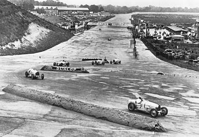 Auto Racing Photograph - British Grand Prix Auto Race by Underwood Archives
