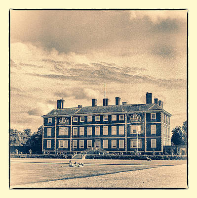 Photograph - British Ham House by Lenny Carter