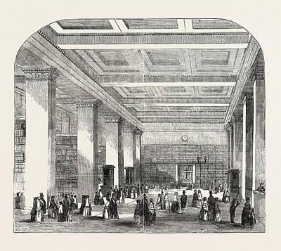 British Museum, The Royal Or Kings Library Art Print